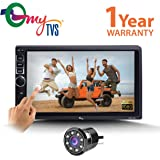 MyTVS TAV-40 Car Touch Screen Stereo Player with Bluetooth & Mirror Link + 8 LED Night Vision Parking Camera -All Cars
