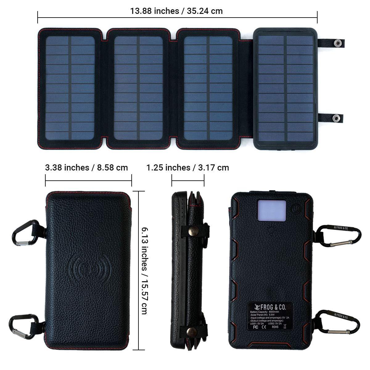 Amazon.com: QuadraPro - Cargador de teléfono móvil solar de ...