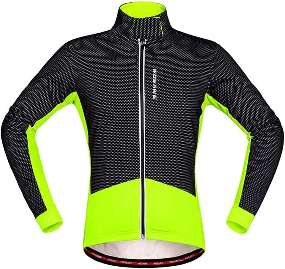 Men/'s Winter Cycling Jerseys Bike Riding Jacket Bicycle Cycling Jersey Red