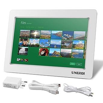 Monitor HDMI de 10.1 Pulgadas, HD Pantalla LCD 1024 * 600 con Carcasa Ultradelgada para Todo Dispositivo con HDMI Entrada, Raspberry Pi 3 2 Modelo B ...