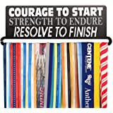 Gone For a Run | Runner's Race Medal Hanger | Courage To Start