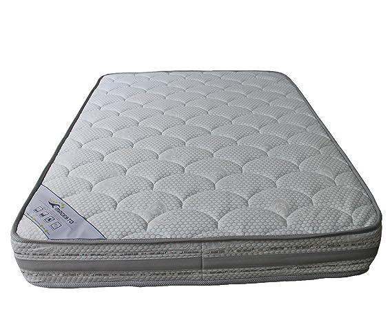 Elite - en Muelle ensacados y Espuma Memoria de Forma colchón Luxe HD 65 kg/m3, 160 x 200: Amazon.es: Hogar