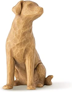 Willow Tree Love My Dog (Light), Sculpted Hand-Painted Figure