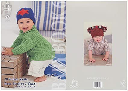 30de1692e Amazon.com  King Cole Baby Book Six Knitting Book Double Knitting ...