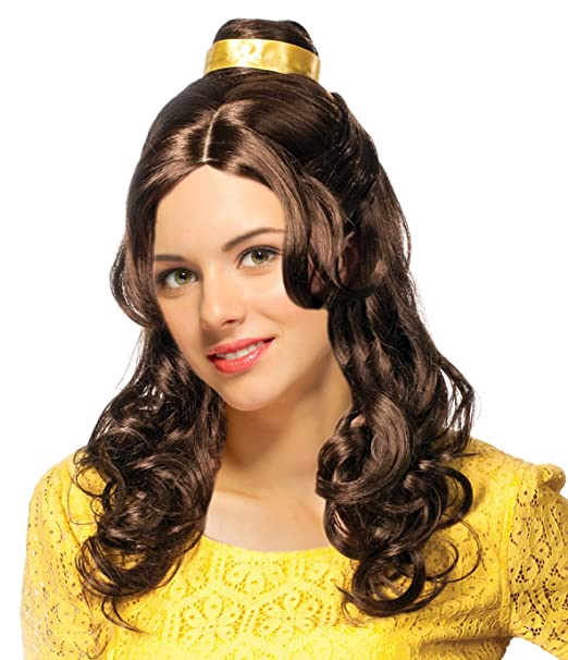 Belle Costume Wig Belle Wig For Women Beauty Costume Wig Bell Wig For Women Brown