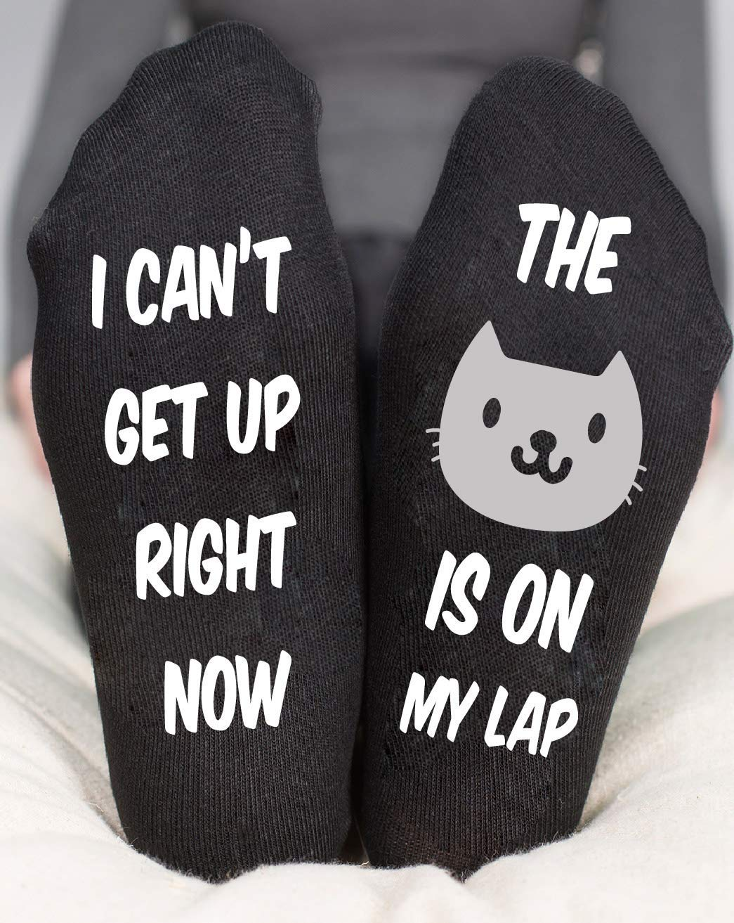Cat Socks For Womens Birthday Gifts Her Funny Kitty