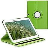 kwmobile Hülle für Samsung Galaxy Tab 3 10.1 P5200 / P5210 / P5220 - 360° Standfunktion Case Tablet Schutzhülle Kunstleder - Smart Cover Tabletcase Grün