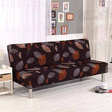 Charmant Cornasee Sofa Cover 3 Seater For Armless Sofa/Sofa Bed, Stretchy Floral  Couch Slipcover