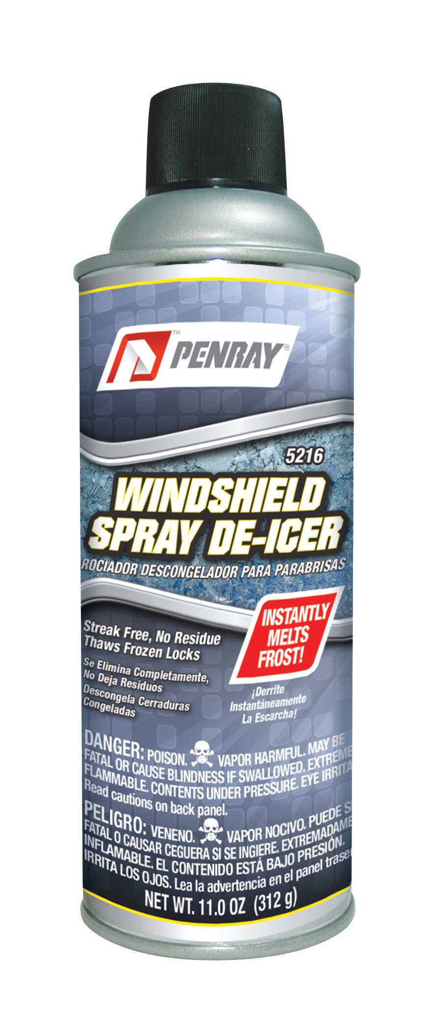 Penray 5216 Windshield Spray De-Icer - 11.0-Ounce Aerosol Can (case of 12) by The Penray Companies