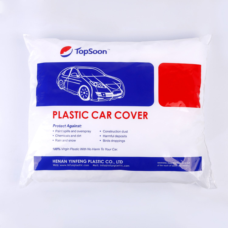 TopSoon Copriauto Telo per Auto Copertura Impermeabile Universale 670 cm x 366 cm Plastica