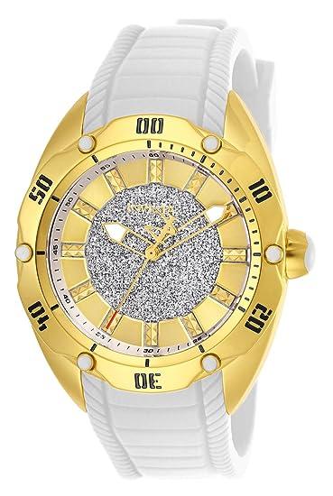 Invicta Venom Reloj de Mujer Cuarzo Correa de Silicona Caja de Acero 26147: Amazon.es: Relojes