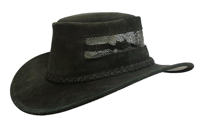 Kakadu Traders Australia - Sombrero cowboy - para hombre  Amazon.es ... fd46141fbdf
