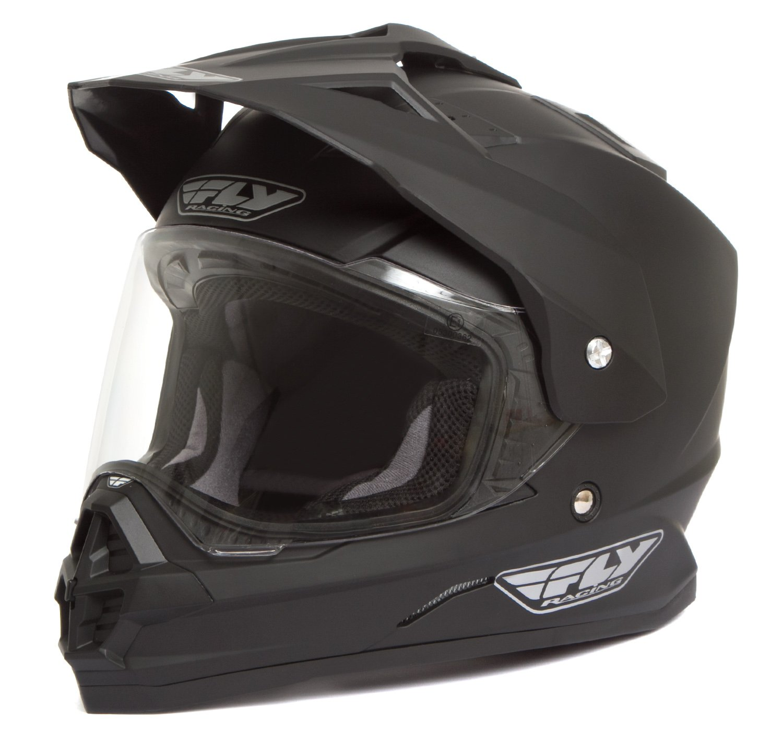 Fly Racing Trekker Helmet Matt Black