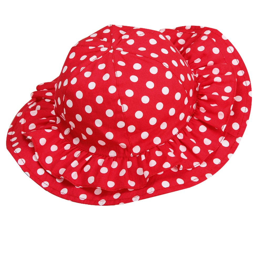 SPF Sun Hat LOSORN ZPY Toddler Baby Printed Hat Sun Protection Bucket,Breathable 50