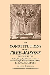 Anderson's Constitutions of 1723: Masonic Service Association
