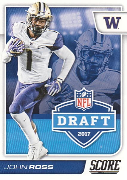 532cdadf3a1 2017 Score Football NFL Draft #11 John Ross Washington Huskies at ...