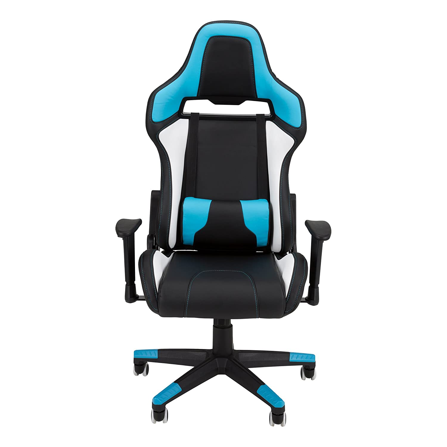 Skylab Performance Seating envejecido aij1004 de So Commander - Racing de Style Gaming Chair by F.C, Blue/White/Black: Amazon.es: Industria, ...