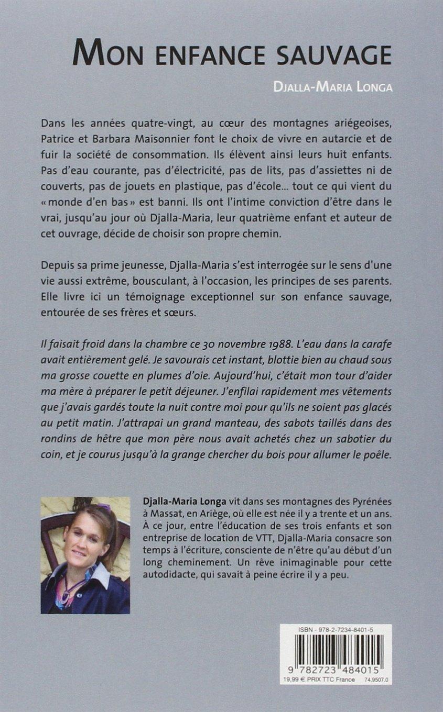 Amazon.fr - Mon enfance sauvage - Djalla-Maria Longa - Livres 15c27fd6747