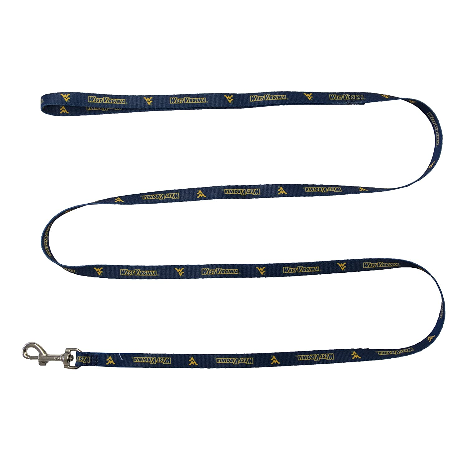 0.375-inches by 60-inches NCAA West Virginia Mountaineers Team Pet Lead