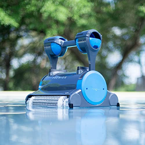 Dolphin-Premier-Robotic-Pool-Cleaner-with-Powerful-Dual-Scrubbing-Brushes