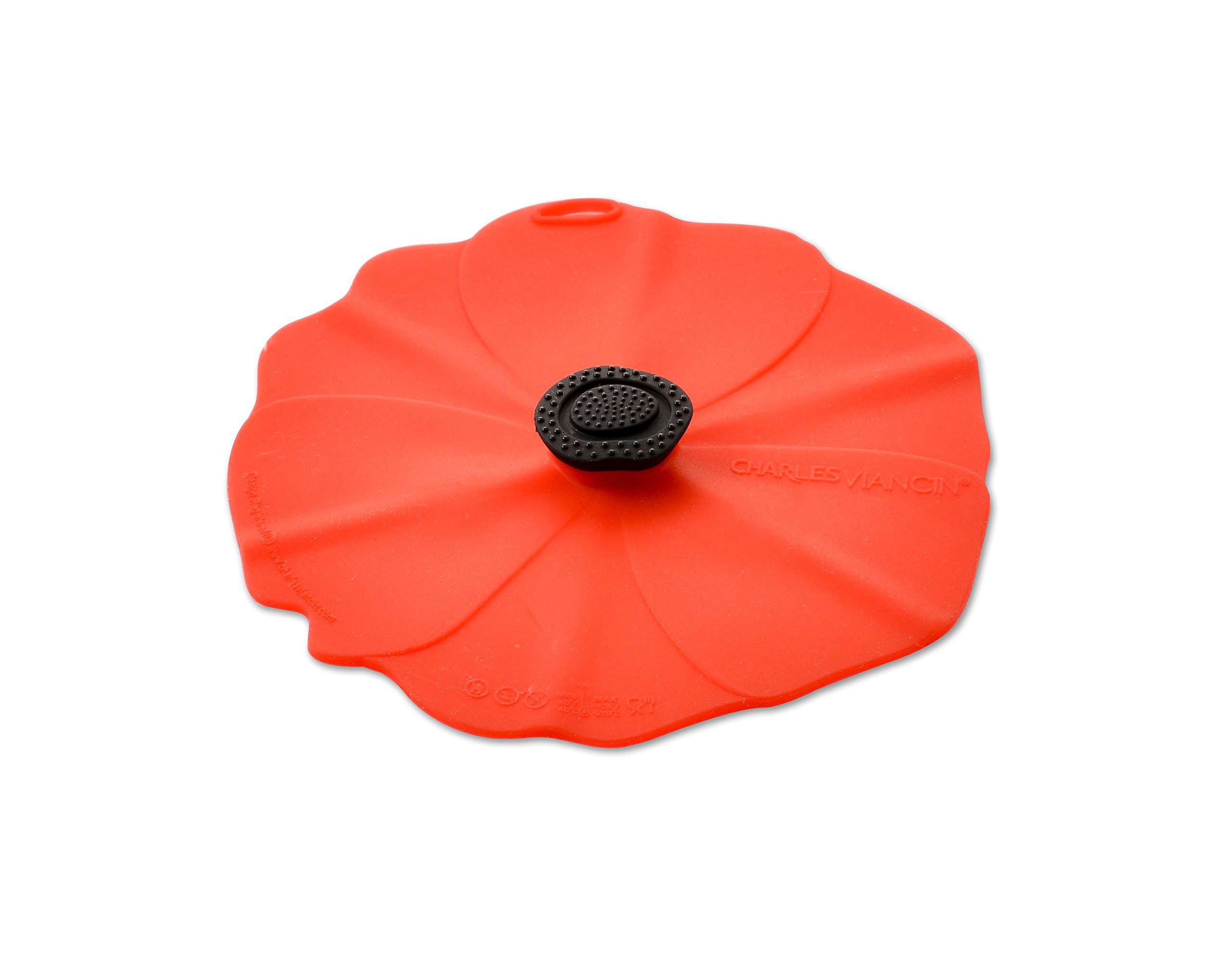 Charles Viancin Poppy Drink Cover Set/2