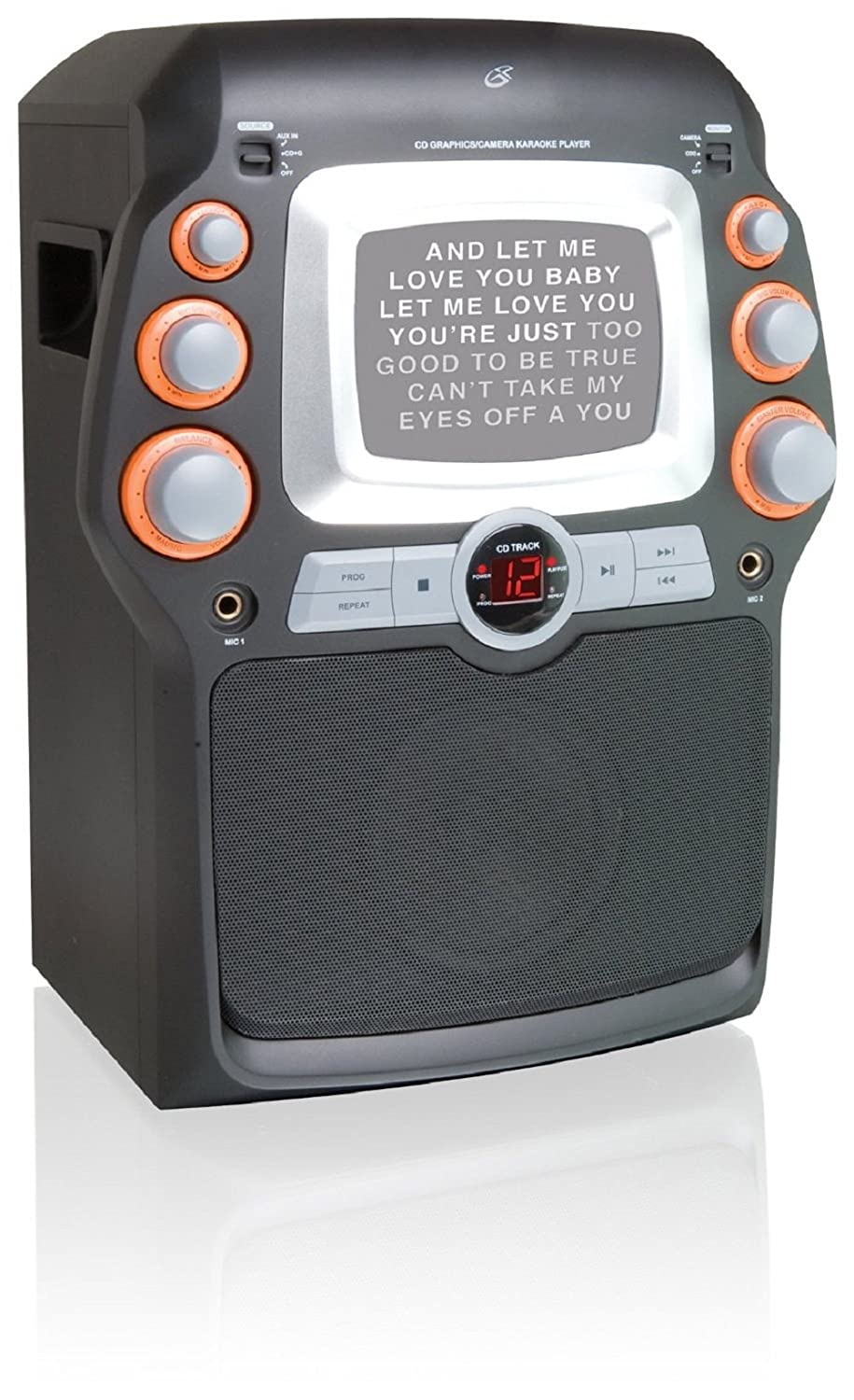 GPX Karaoke w/Display JM332B Inc.