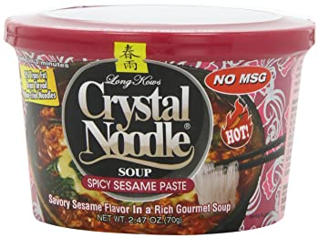 Crystal Noodle Soup – Spicy Sesame Paste