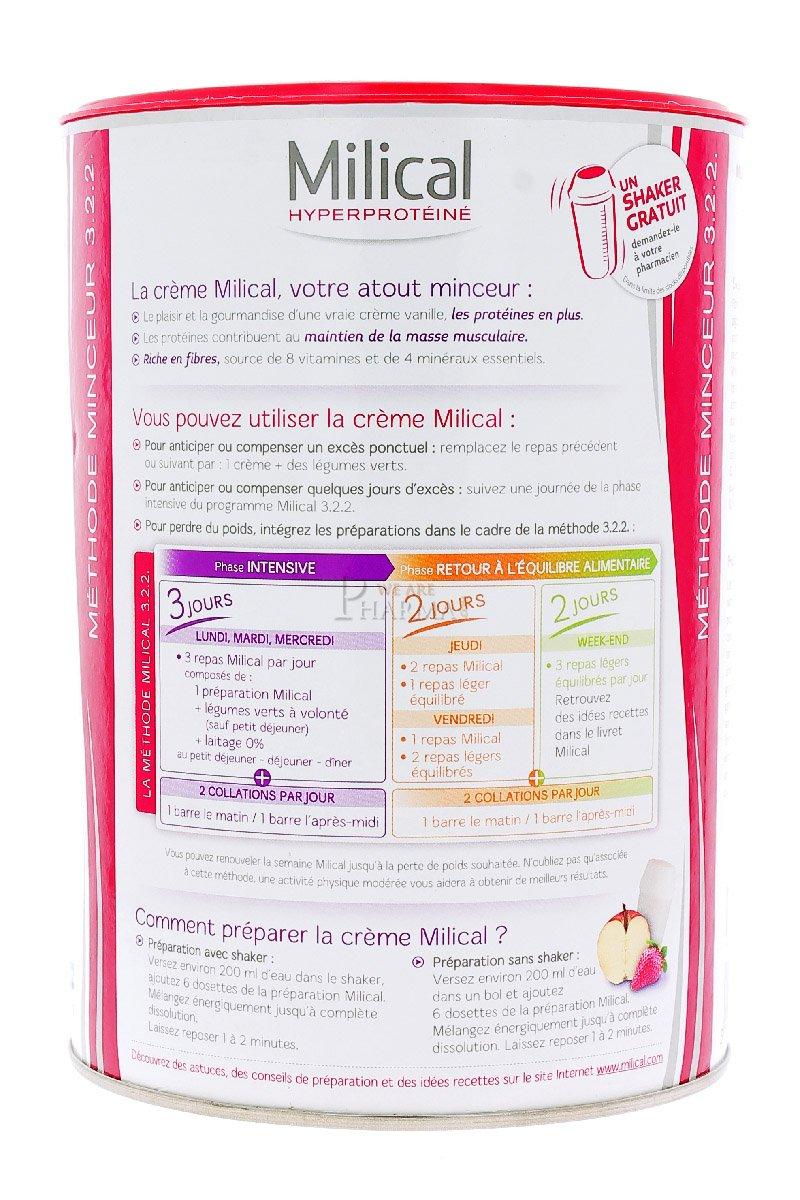 Idee Repas Jour De L An Pour 2.Milical 12 Slimming Creams Eco Box Flavour Caramel