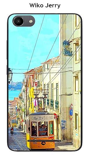 Onozo Carcasa Wiko Jerry - Lenny 3 Design Lisboa: Amazon.es ...