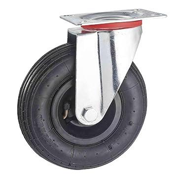 Tente 06549 - Rueda pivotante hinchable (diámetro 200 mm ...