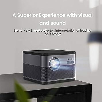XGIMI H1-Aurora Nativo de 1080p Proyector HD Android Proyector 3D Proyector de Cine en Casa con Haman / Kardon Equipo de Estereofonia y Subwoofer Personalizados para Construir en LiveTV: Amazon.es: Electrónica