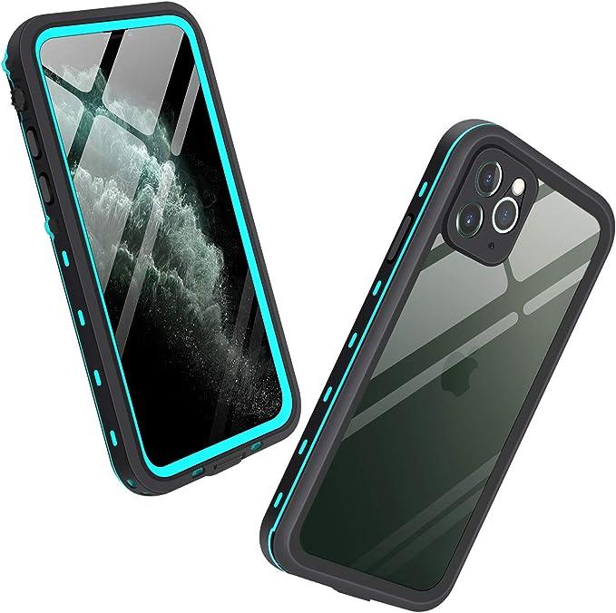 Mishcdea - Carcasa para iPhone 11 Pro MAX (Resistente al Agua, a ...