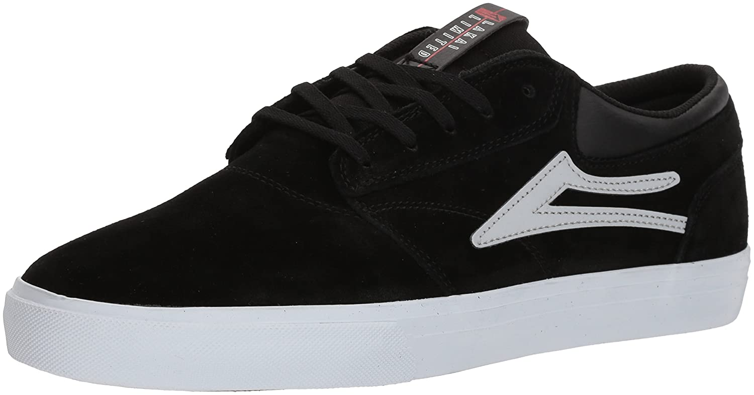 Lakai Limited Footwear Mens Griffin 12 M US|Black/Reflective Suede