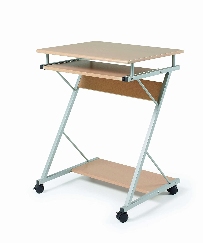 Due-home innovations Tavolino per Notebook pc tavolo, in legno, colore: Naturale