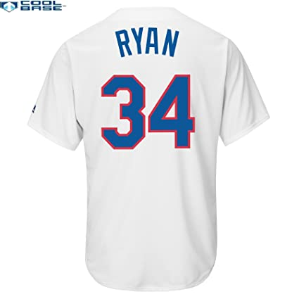 Image Unavailable. Image not available for. Color  Majestic Nolan Ryan  Texas Rangers  34 MLB Men s Cool Base Cooperstown Jersey ... 13669b66a