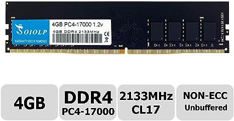 4gb Ddr4 2133mhz Pc4 17000 Non Ecc Unbuffered 1 2v Cl15 Computer Zubehör