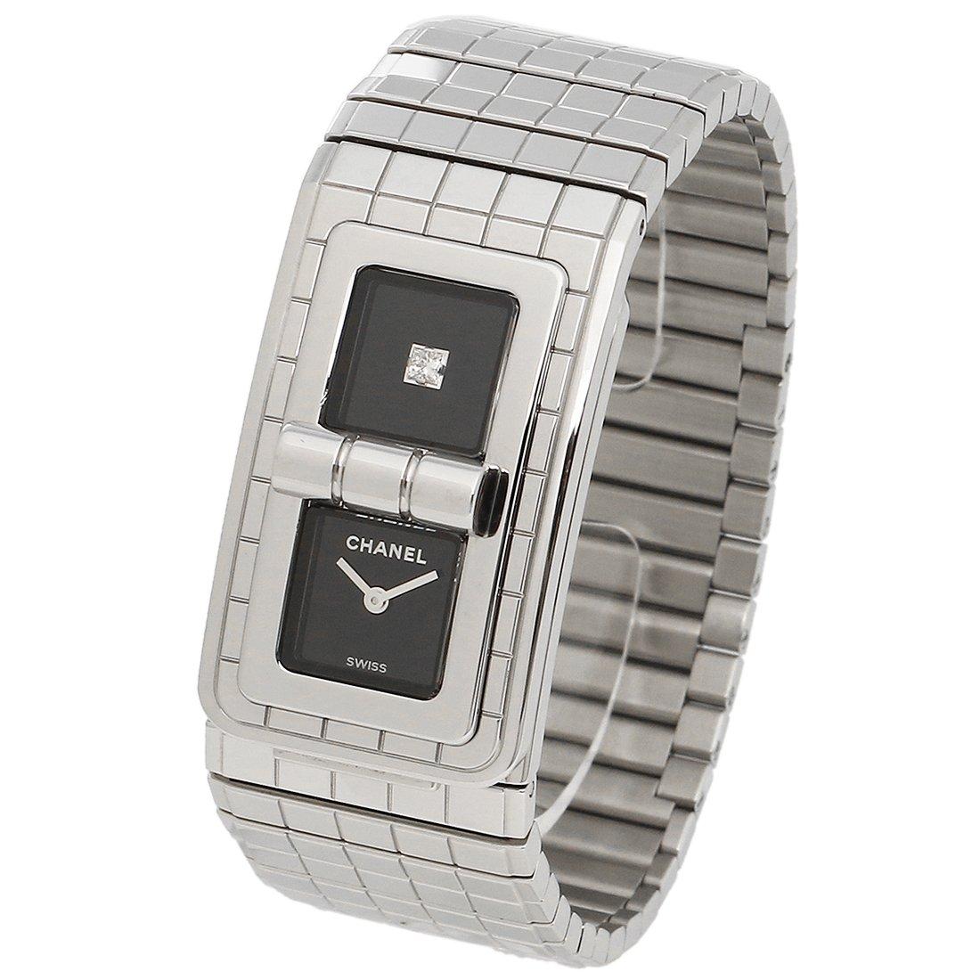 3e2a243a133a Amazon | [シャネル] 腕時計 レディース CHANEL H5144 シルバー ブラック [並行輸入品] | 並行輸入品・逆輸入品・中古品( レディース) | 腕時計 通販