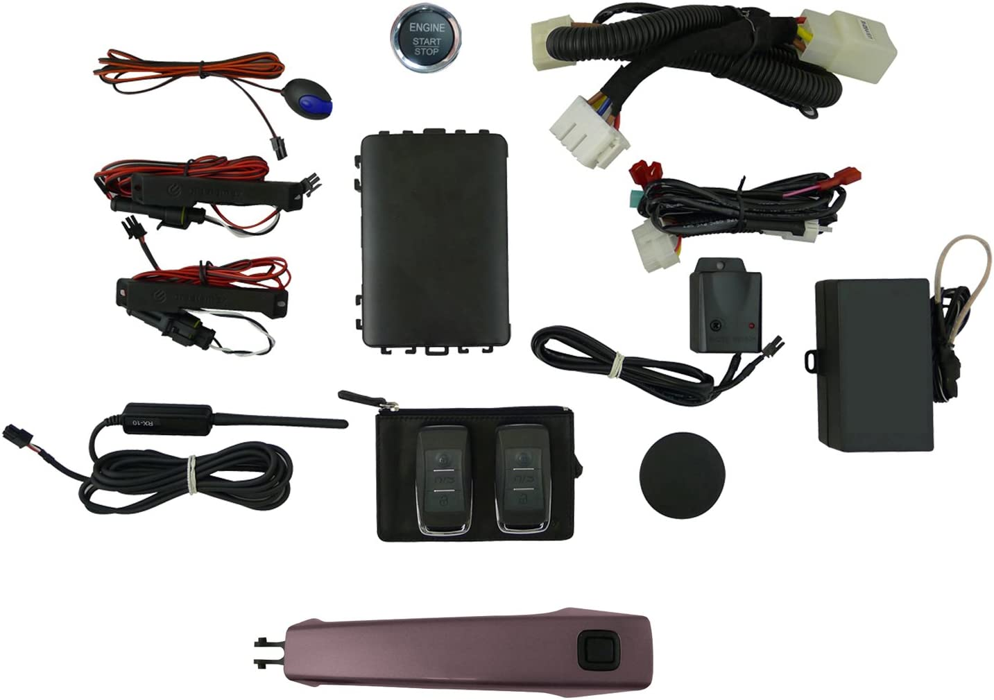 EasyGO AM-GMT-403P Smart Key Remote Start and Alarm System with ...