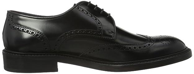 Lottusse L6724, Zapatos de Cordones Brogue para Hombre, Negro-Schwarz (Jocker  Pelar Negro), 42 EU: Amazon.es: Zapatos y complementos