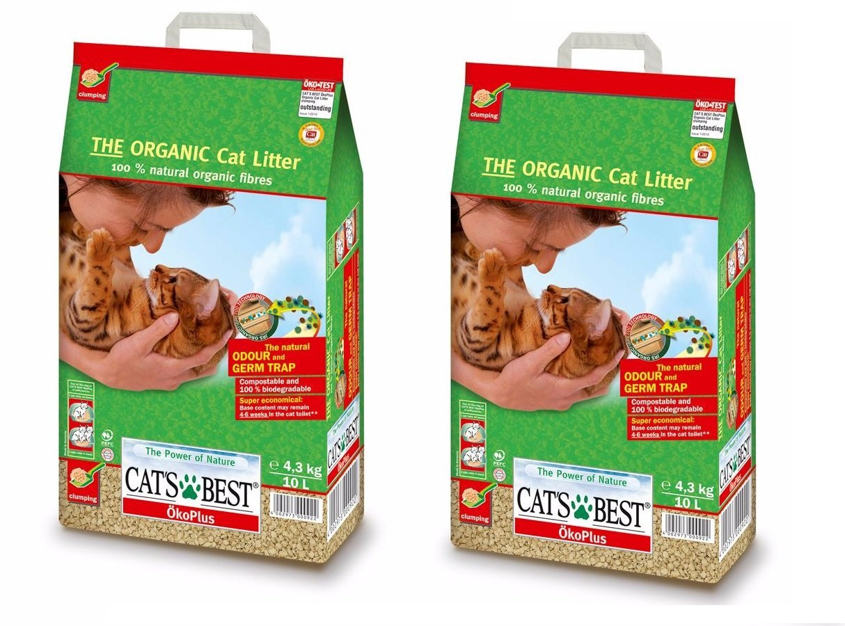 Cats Best Oko Plus Clumping Organic Cat Litter -10 Litre (Pack of 2) Total = 20L (B074ZSRVT8) Amazon Price History, Amazon Price Tracker