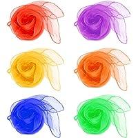 QLOUNI 12pcs Pañuelos de Malabares/ Bailar con los