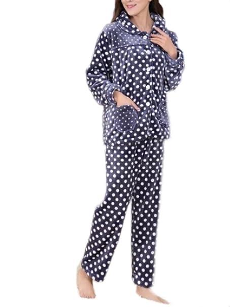 Pijama De Señora Pajama Noble Simple Pijama Conjunto Pijama De Lujo De Manga Larga Pijama Superior