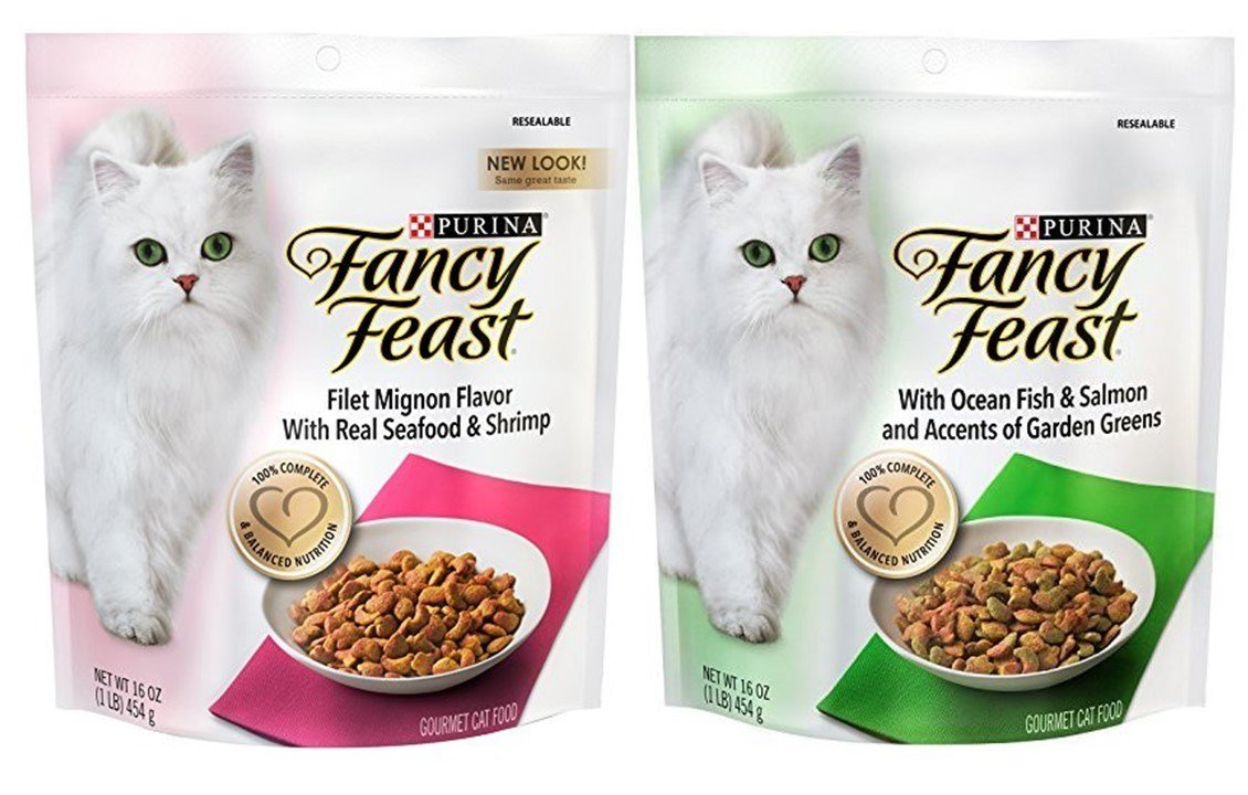Purina Fancy Feast Gourmet Cat Food 2 Flavor Variety