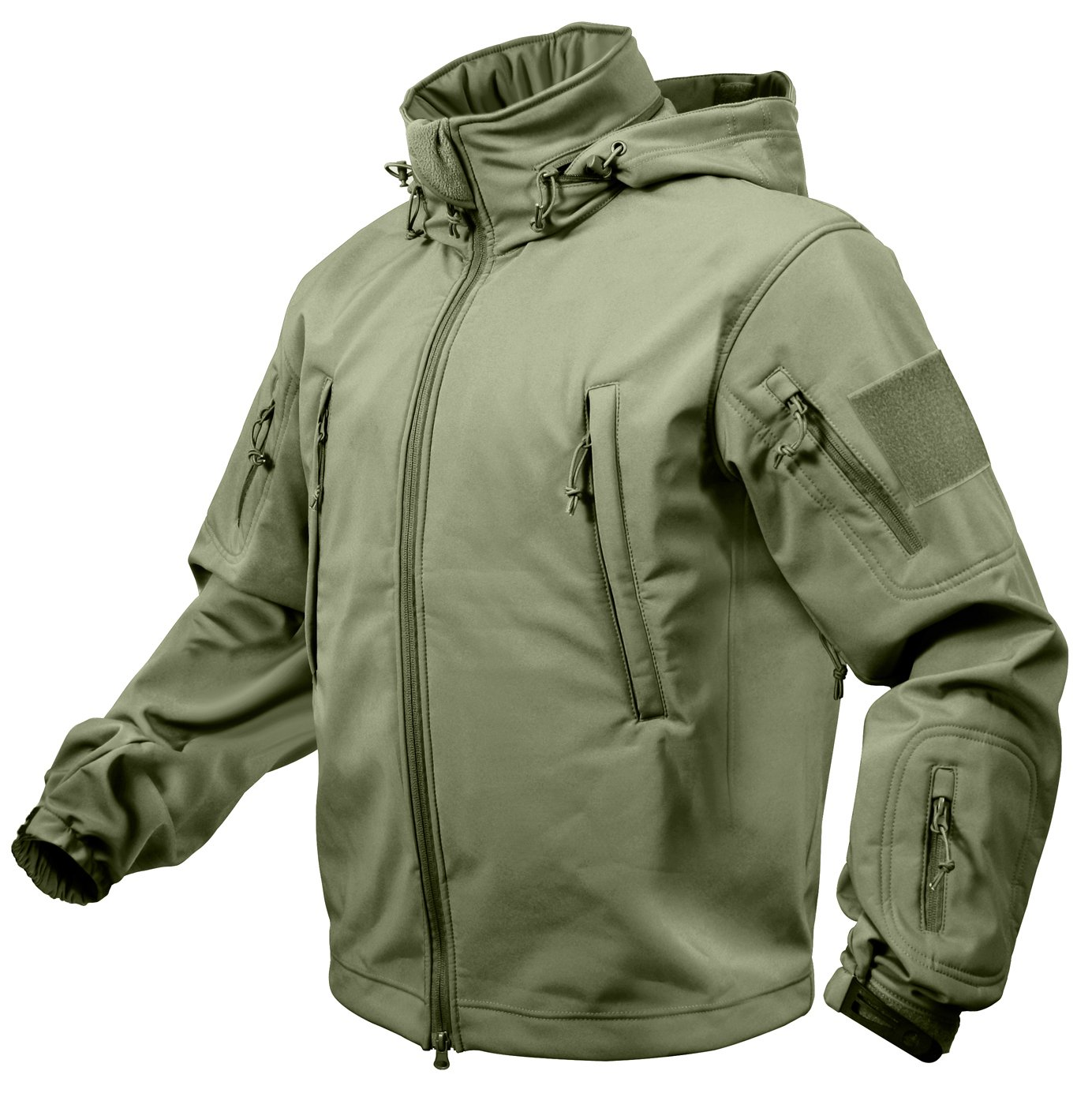 Rothco Special Ops Soft Shell Jacket, Olive Drab, XX-Large by Rothco
