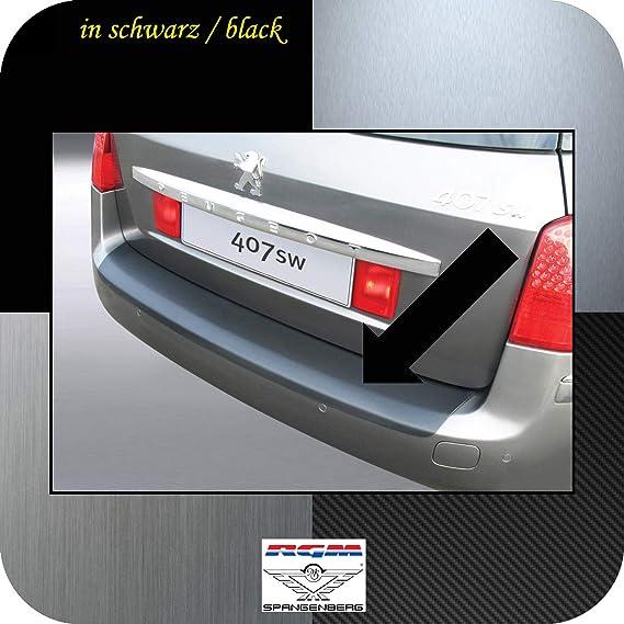 Richard Grant Mouldings Ltd. RGM RBP437 - Protección para Parachoques para Peugeot 407 SW Combi de 5 Puertas, Modelos a Partir de Facelift 09.2008-02.2011, ...