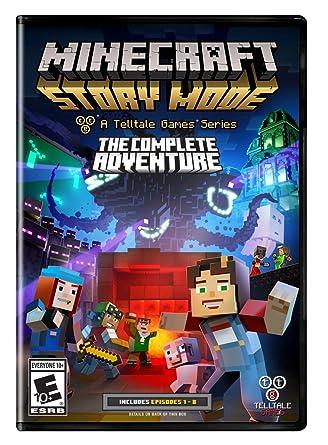 Amazon Com Minecraft Story Mode The Complete Adventure Pc