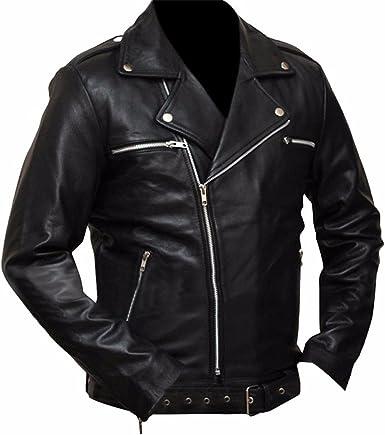 SleekHides Mens Fashion Style Leather Jacket