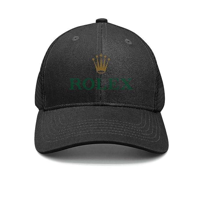 c066251b Men's Classic Baseball Hats 2018-Rolex-Logo- Adjustable Trucker Cap