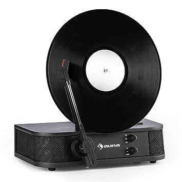 auna Verticalo S - Tocadiscos con diseño Retro , Tocadiscos ...