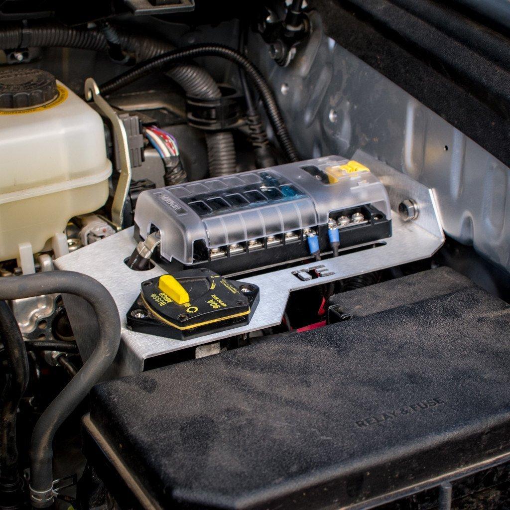 Amazon.com: Auxiliary Power Fuse Block Bracket / sPOD Mount for 5th  Generation Toyota 4Runner (2010-2017): Automotive